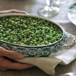Creamed Peas, food, cooking, recipe, classic English meal, Victoria, Victoria Magazine, Bliss