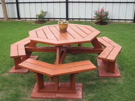 DIY Build It Yourself Picnic Table Plans Wooden PDF do it yourself ...