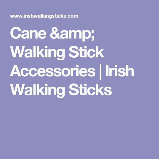 Cane & Walking Stick Accessories | Irish Walking Sticks