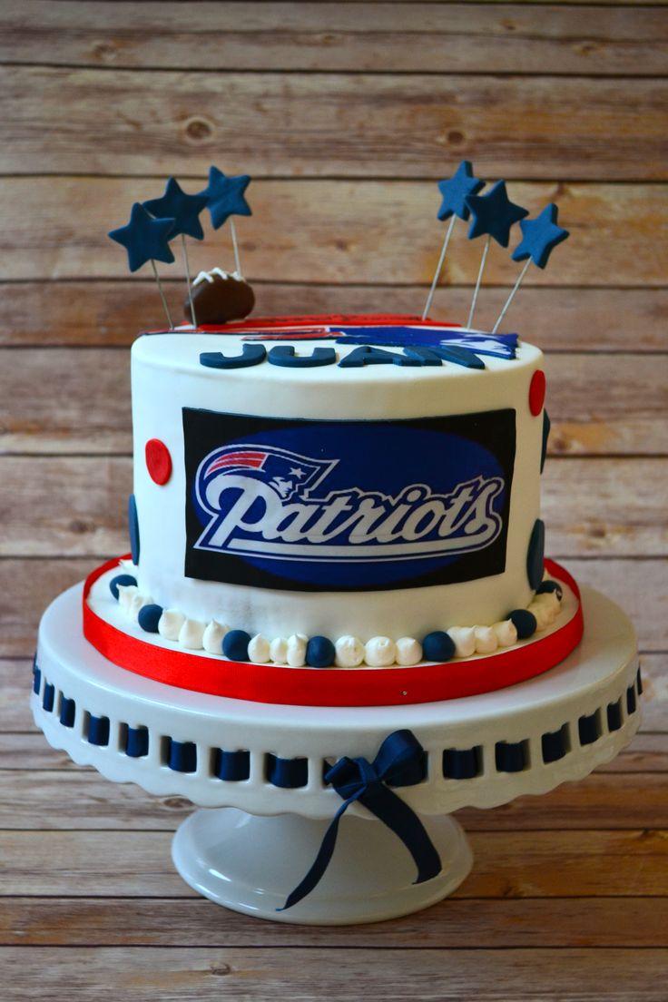 New England Patriots Cake! https://www.facebook.com/alittlecakeshop