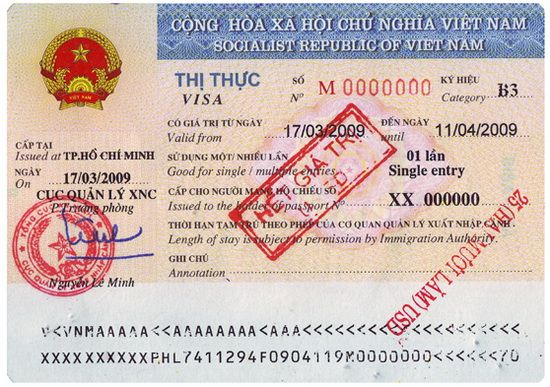 Vietnam visa on arrival  Visa on arrival is officially issued by Vietnam Immigration Department (Vietnamese Government Agent), it has same validity with the visa get from Vietnamese Embassy/ Consulate abroad.