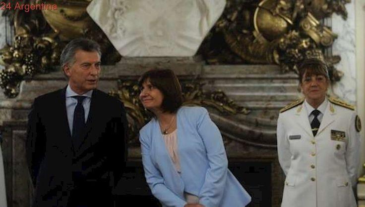 Mauricio Macri analiza el caso Maldonado con Patricia Bullrich y otros funcionarios en la Casa Rosada
