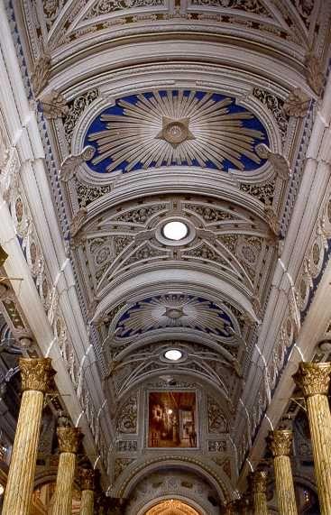 El techo de La Basílica de nuestra sra de chiquinquira...  Maracaibo, Venezuela