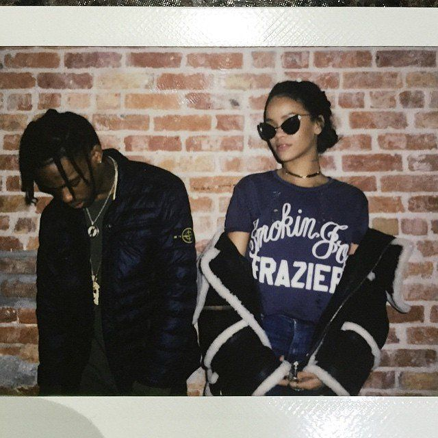 Has Rihanna Met Her Style Match With Travis Scott?
