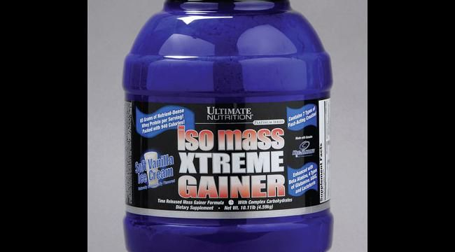 How Ultimate Nutrition's Iso Mass Xtreme Gainer can help
