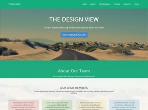 View the Design View Template Details