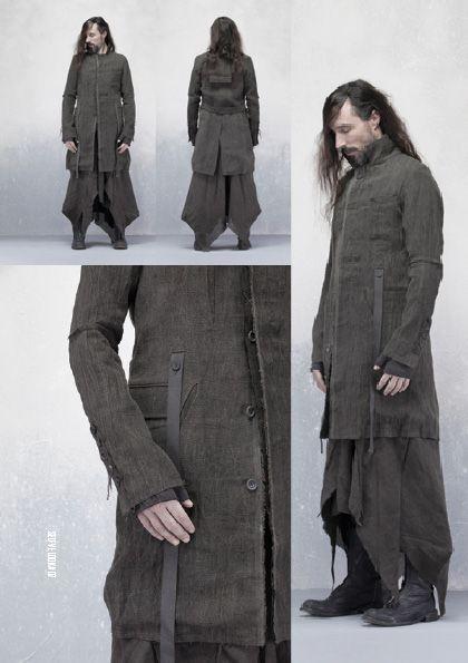 Mens' apocalyptic fashion