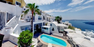 Mill House Studios & Suites at Firostefani Hotels in Santorini, Greece.