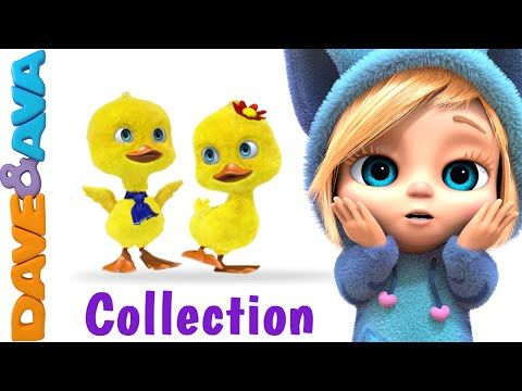 Five Little Ducks | New Nursery Rhymes Collection from Dave and Ava - YouTube