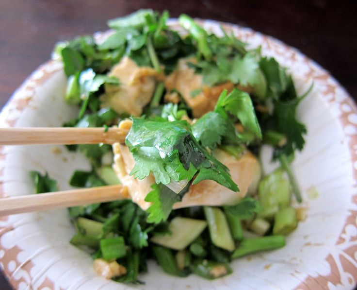 Po Po's Tofu Watercress Salad | The Tasty Island