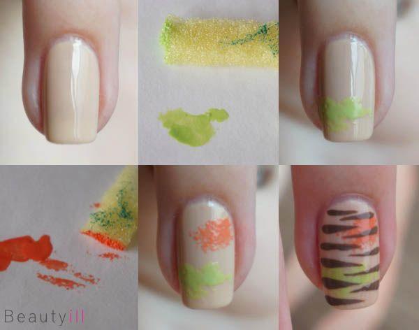 DIY Nail Art   Fashionable Stripes ~ Beautyill   Beautyblog met nail art, nagellak, make-up reviews en meer!