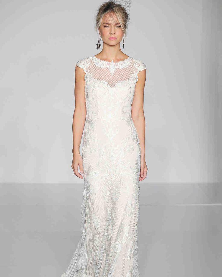 1458 best short sleeve sheath images on pinterest for Maggie sottero short wedding dress