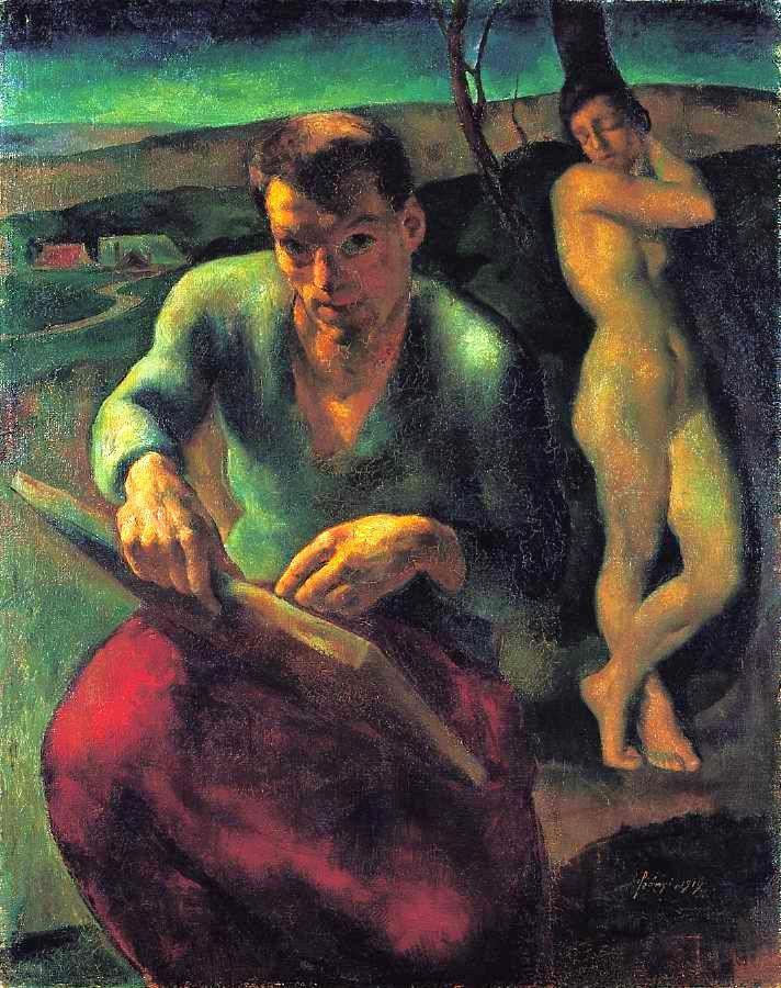 Szőnyi, István (1894-1960) - Self portrait, 1919
