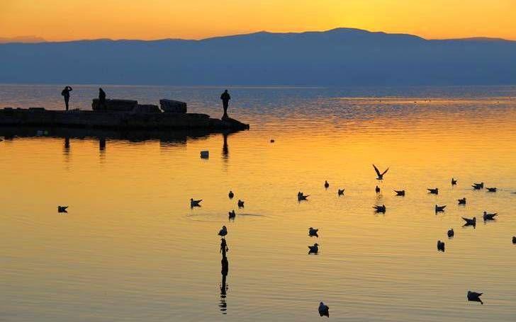 Ohri Lake, Balkans, Macedonia