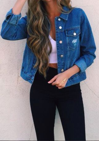 Staple jean jacket