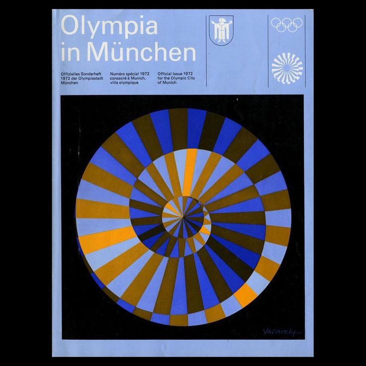"439 Likes, 3 Comments - Design (@selectedwork) on Instagram: ""Work by Otl Aicher, Olympia in München: Official Issue, 1972"""