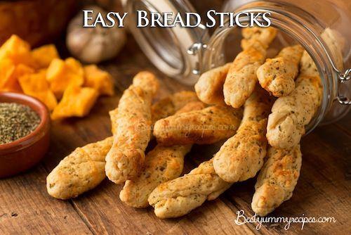 Easy Bread Sticks - http://www.thinkarete.com/easy-bread-sticks/