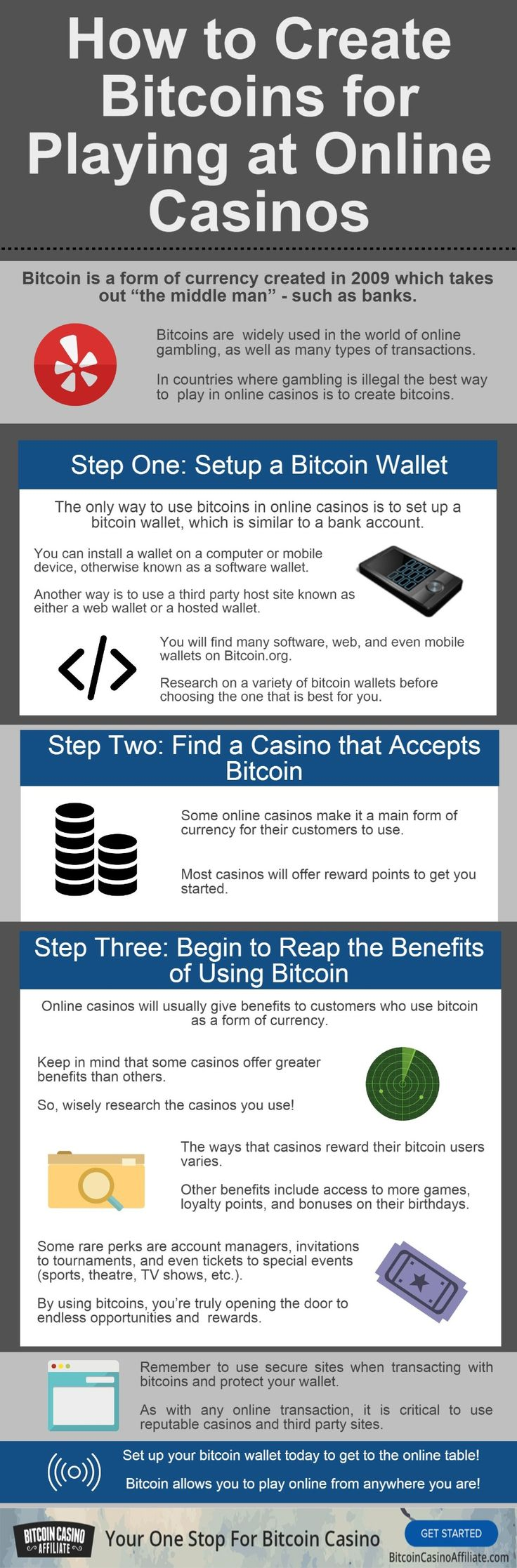 Join The World Of Online Gambling Using Bitcoin Learn About Bitcoin, How  You Can