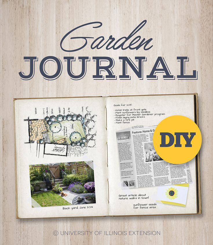 Guide to creating a garden journal! A great way to organize and keep track of the how, when, where, and what of gardening as reminders for next season.