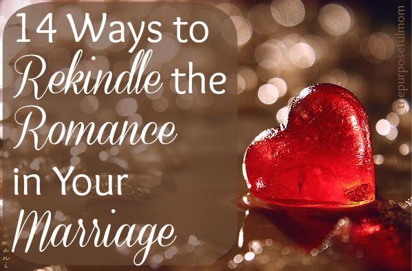 Rekindle my marriage