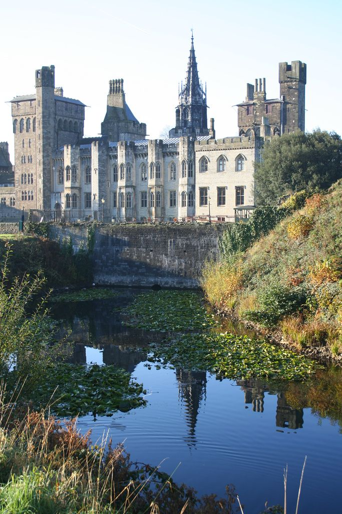 Cardiff Castle - Cardiff, South Wales, UK