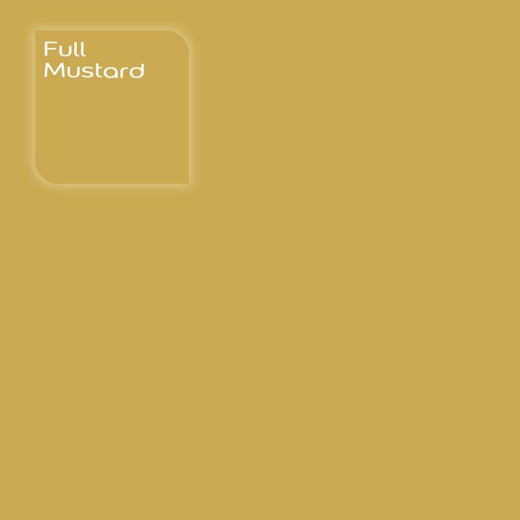 Pure by Flexa Colour Lab® kleur: Full Mustard. Verkrijgbaar in verfspeciaalzaken.