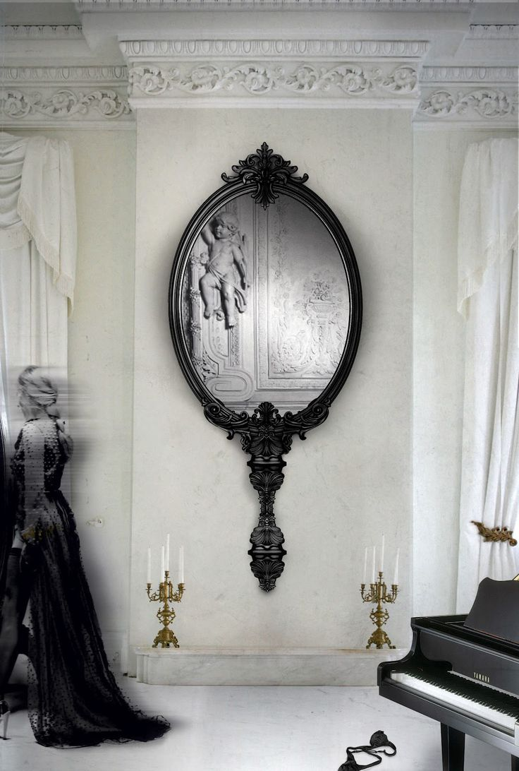 116 best mirrors images on pinterest wall mirror design wall the most beautiful wall mirror designs for your living room amipublicfo Images