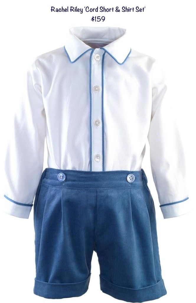 Rachel Riley~ outfit worn by little Prince George in photos with baby Princess Charlotte
