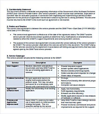 Saas Sla Template. how to write software product brochures ...