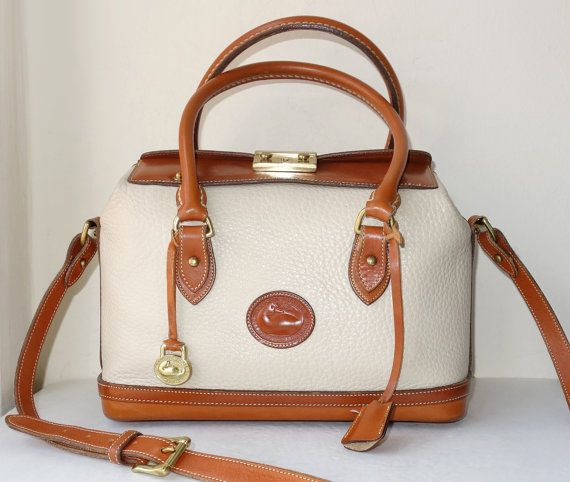 White And Tan Handbags | Luggage And Suitcases