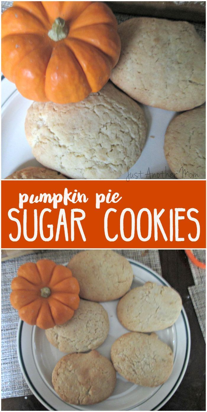 Celebrate the arrival of all things pumpkin with these easy and tasty pumpkin pie sugar cookies.