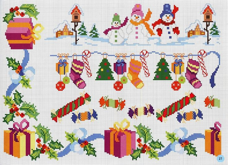 Cenefas navideñas                                                                                                                                                      Más
