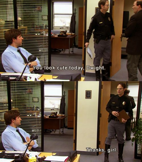 #TheOffice: Theoffice, Girls, The Office, Offices, Volunteer, Funny, Funnies, Dwight