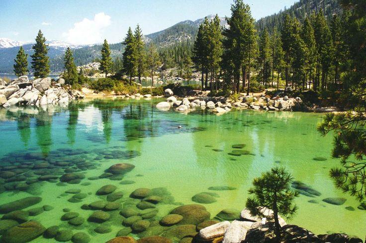 Lugares Fantásticos: Lago Tahoe - Califórnia-Nevada