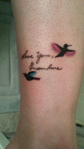 Grandma Memorial Tattoo by Brook Bailey-Foundation Tattoo, Modesto Ca.