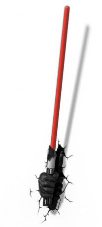 ADC Blackfire 3D světlo Star Wars Darth Vaderův světelný meč Vše s motivem #STAR WARS #hračky #oblečení #hry #kostýmy #knížky #omalovánky #samolepky #tapety #plakáty #rolety #závěsy #povlečení #Hvězdné #války #narozeniny #párty #občerstvení #tip3dmamablog