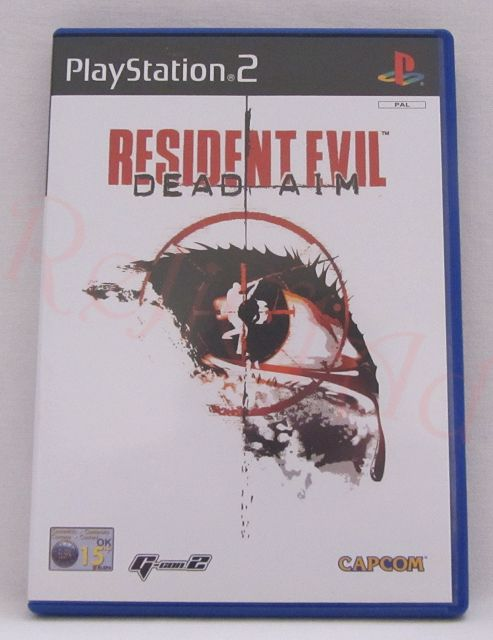 Resident Evil Dead Aim PS2 game