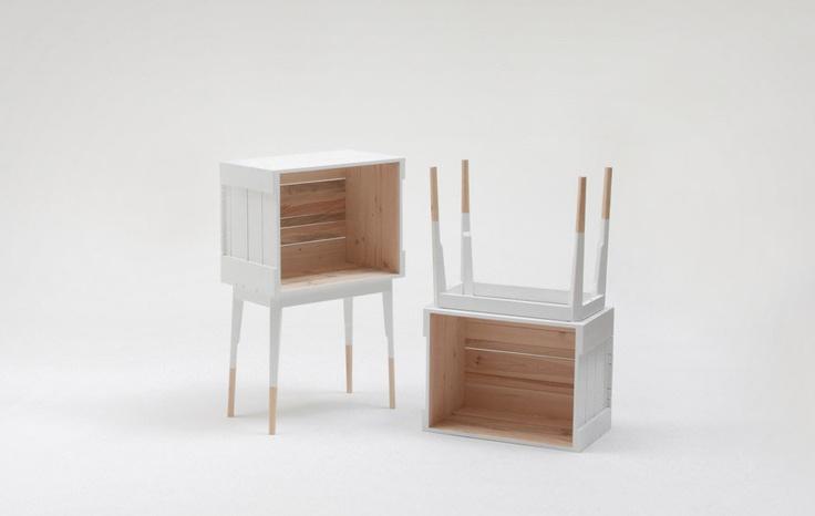 La Clinica's Pine painted furniture: Clinica Collection, Furniture Inspiration, Side Tables, Diy Furniture, Caruso Dalma, Furniture Design, Ciszak Und, Clinica Design, Ciszak Dalma