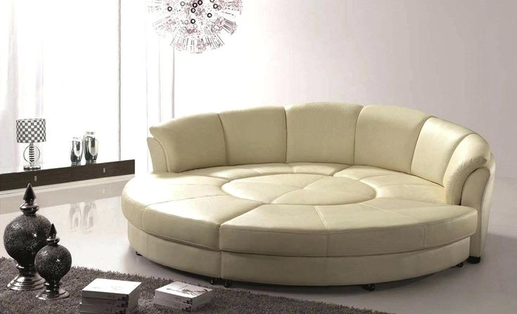 Leather Sofa Bed, Large Round Sofa Bed