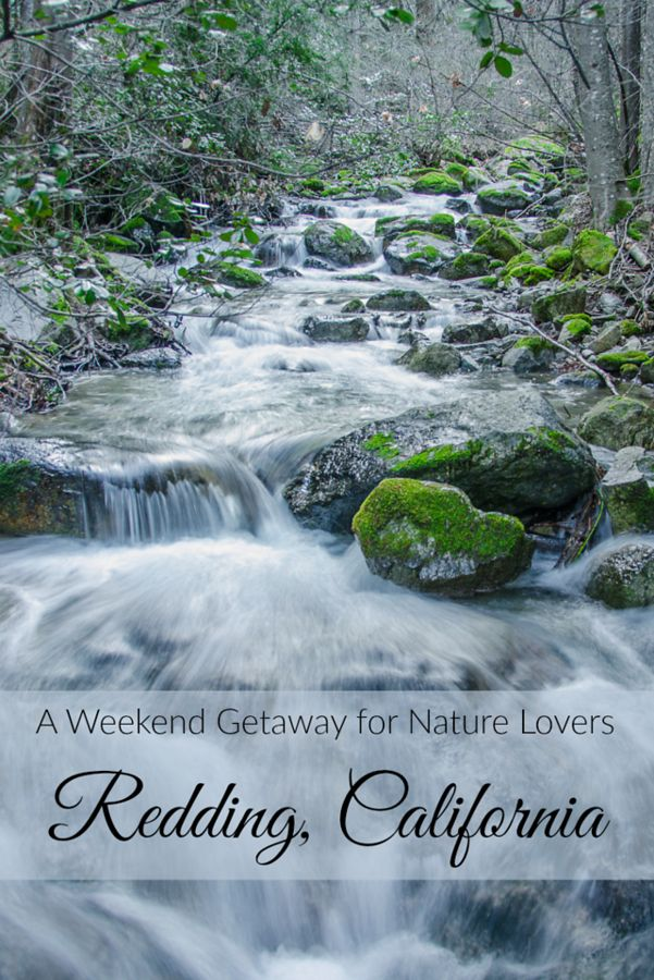 A weekend getaway for nature lovers redding california for Northern california weekend getaway