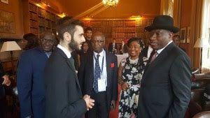 Goodluck Jonathan Arrives At University of Oxford  Whatsapp / Call 2349034421467 or 2348063807769 For Lovablevibes Music Promotion  Former President Goodluck Jonathan has this evening arrived at the University of Oxford. We reported earlier today that the immediate past President of Nigeria was to deliver a speech at the University of Oxford with the theme promoting youth entrepreneurship. The speech will be streamed live on Jonathans official facebook page.NEWS