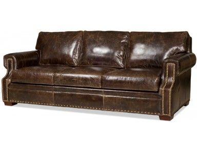 Amazing Bradington Young Jude Leather Sofa. Custom Made In The USA! : Leather  Furniture Expo