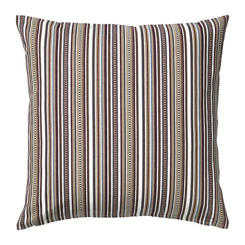 ELVILDA Fodera per cuscino IKEA Il filo leggermente in rilievo rispetto alla superficie dona al tessuto un aspetto artigianale.