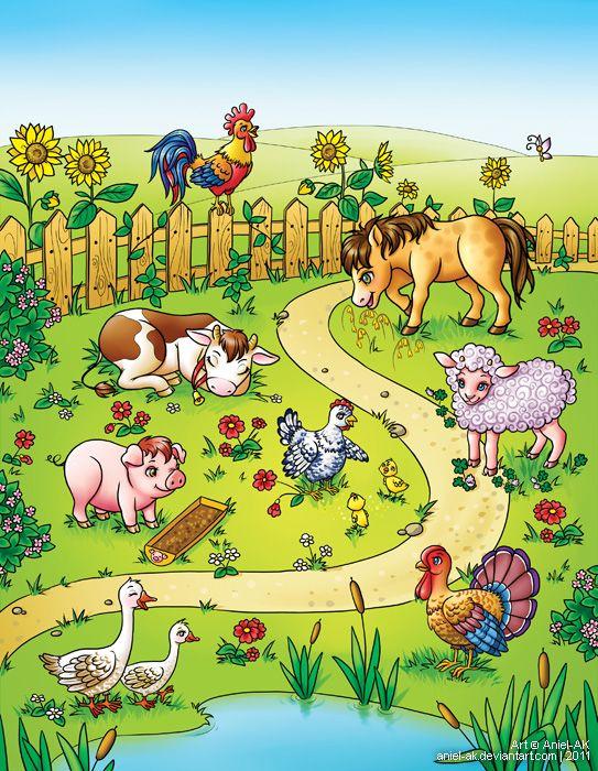 Praatplaat dieren/boerderij