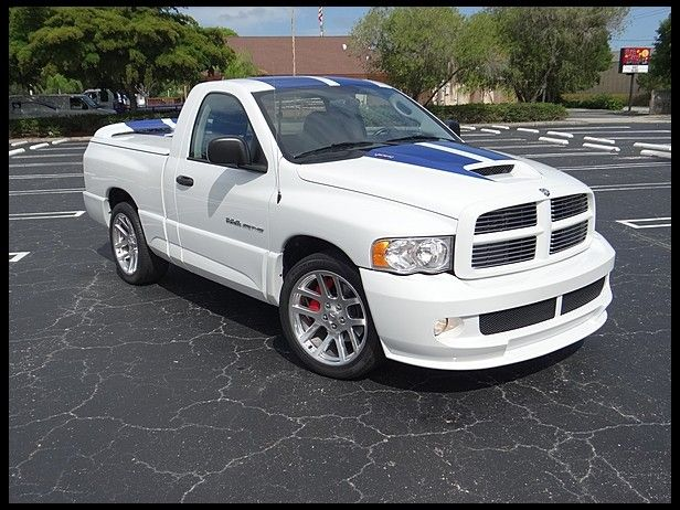 2005 Dodge Ram SRT/10 Viper Pickup 500 HP, 6-Speed