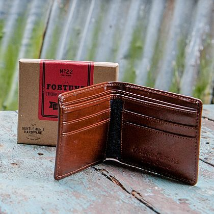 Leather Wallet ~ Brown