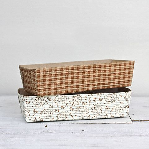 paper bakeware rustic loaf pan from littleink.co.nz