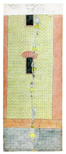 Henry Darger, 'Make daring escape,' 1910-1970, Musée d'Art Moderne de la Ville de Paris