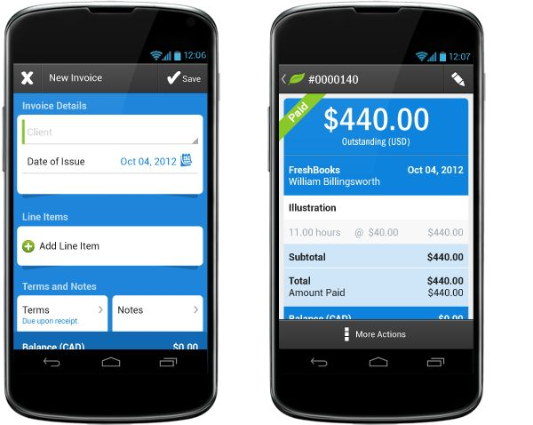 FreshBooks brings simple, cloud-based personal accounting to Android | Software - CNET Reviews