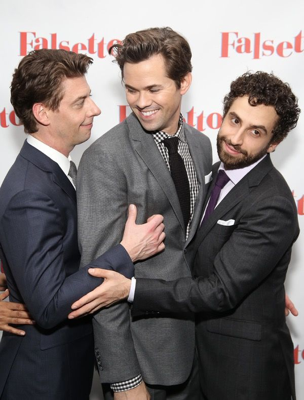 When Mendel realized that he was in love with Whizzer and Marvin all along. (Also, this is the cutest picture ever)